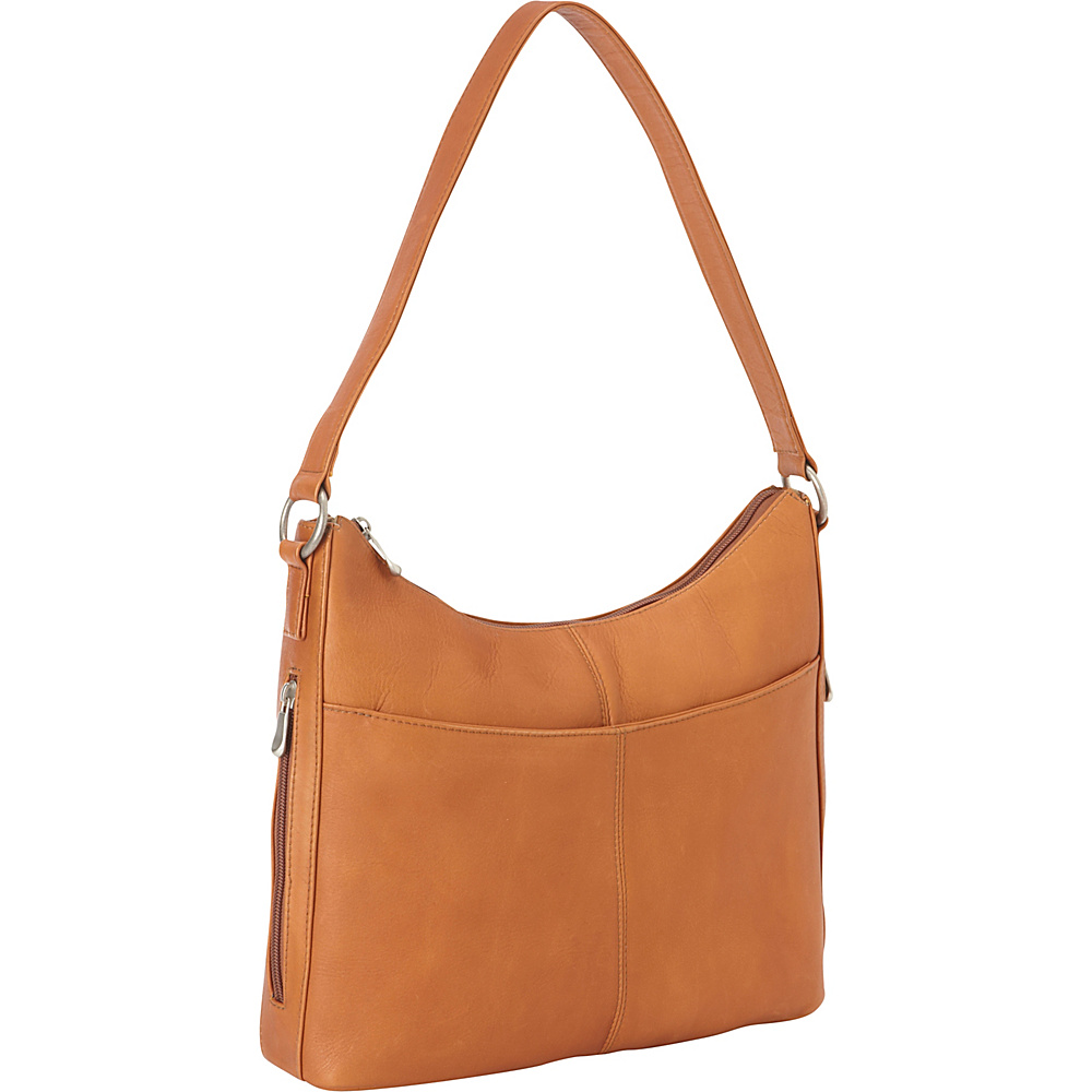 Le Donne Leather Bella Hobo Tan - Le Donne Leather Leather Handbags - Handbags, Leather Handbags