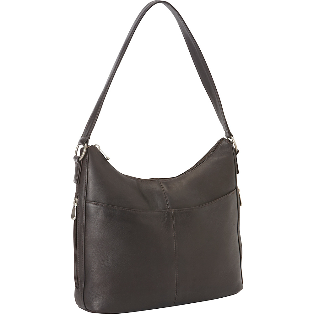 Le Donne Leather Bella Hobo Cafe - Le Donne Leather Leather Handbags - Handbags, Leather Handbags