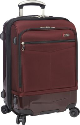 Ricardo Beverly Hills Rodeo Drive 21 inch 4-Wheel Exp Hybrid WheelAboard Black Cherry - Ricardo Beverly Hills Softside Carry-On