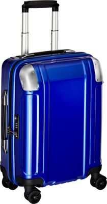 Zero Halliburton Geo Polycarbonate Carry On 4 Wheel Spinner Travel Case Blue - Zero Halliburton Hardside Carry-On