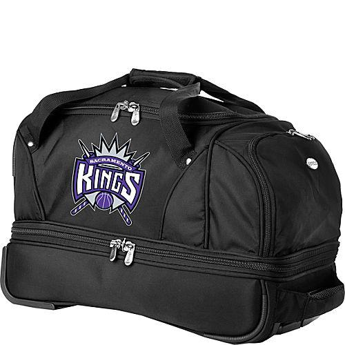 "Denco Sports Luggage NBA Sacramento Kings 22"" Drop Bottom Wheeled Duffel Bag at Sears.com"