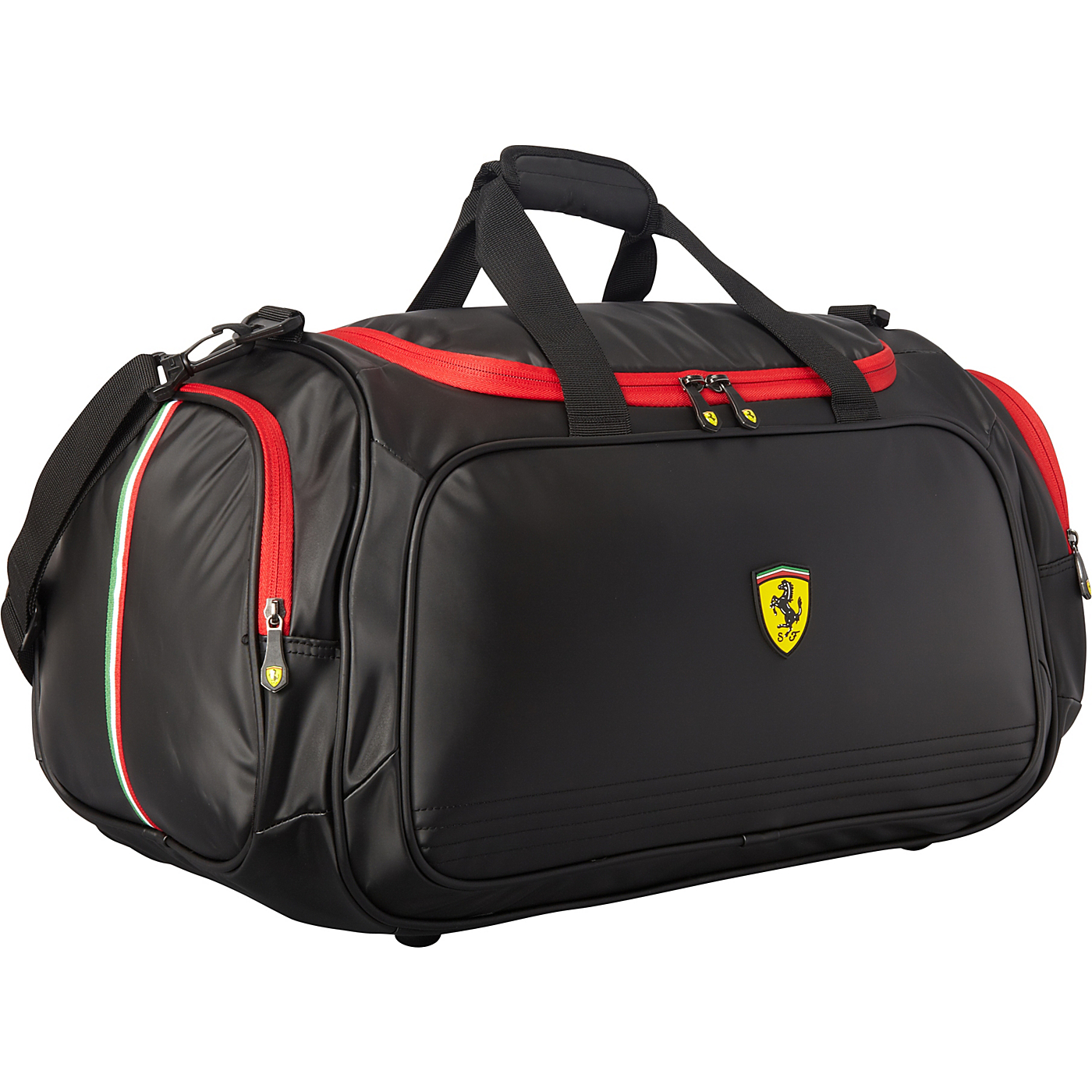 f967272590 Large Carry On Sport Duffel Bag Black Ferrari Casuals All Purp on ...