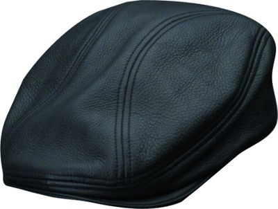 Stetson Argus - Oily Timber Leather Ivy L - Black - Stetson Hats/Gloves/Scarves