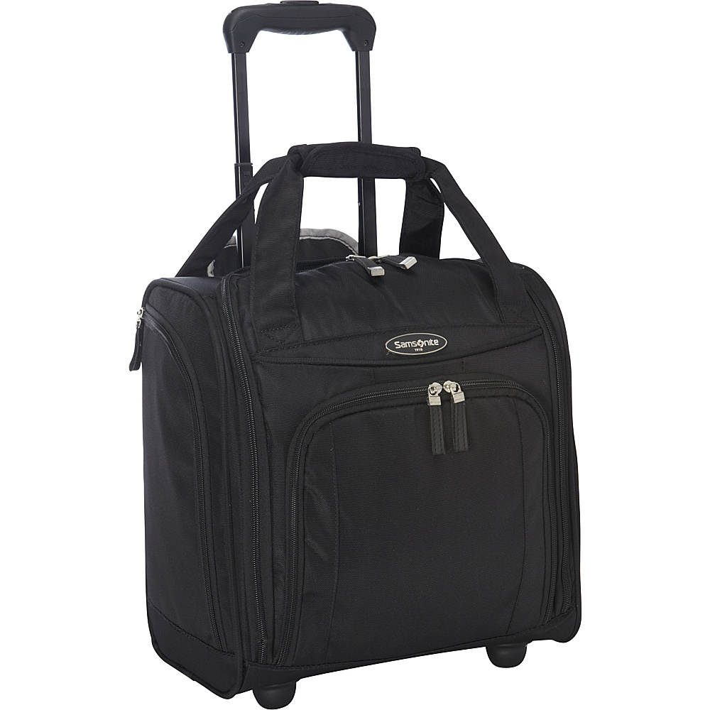 Samsonite Wheeled Underseater Small Black - Samsonite Softside Carry-On