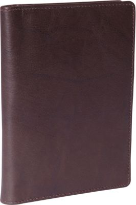 Budd Leather Leather Passport Case Brown - Budd Leather Travel Wallets