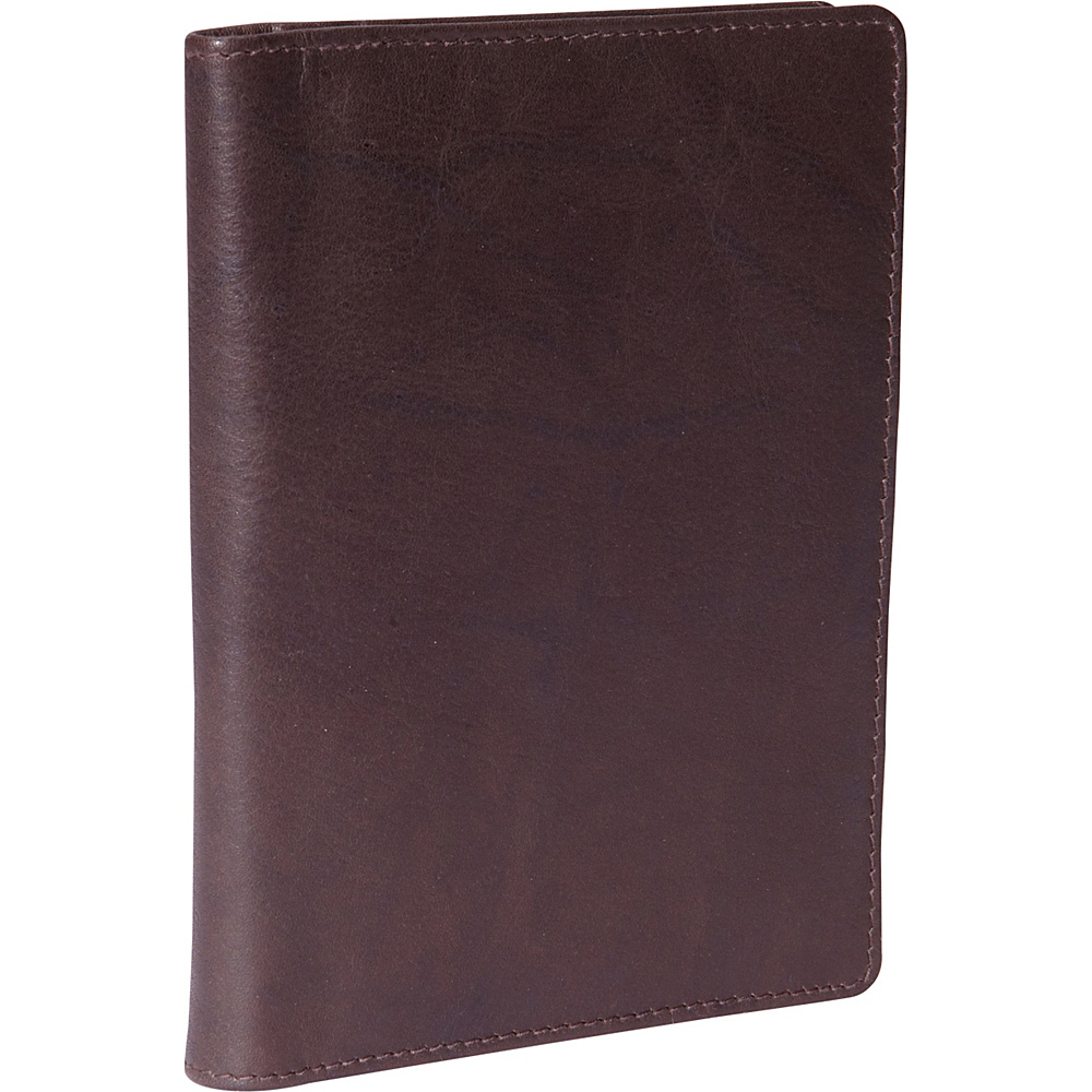 Budd Leather Leather Passport Case Brown Budd Leather Travel Wallets