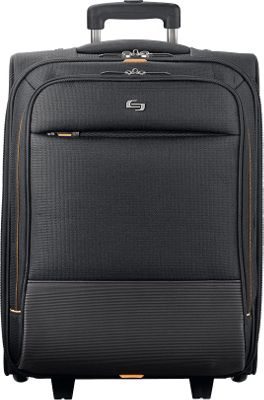 SOLO Urban Rolling Overnighter Case Black - SOLO Wheeled Business Cases