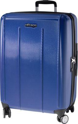 eBags EXO 2.0 Hardside 24 inch Spinner Blue - eBags Hardside Checked