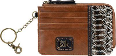 The Sak Iris Card Wallet Brown Snake Multi - The Sak Women's Wallets
