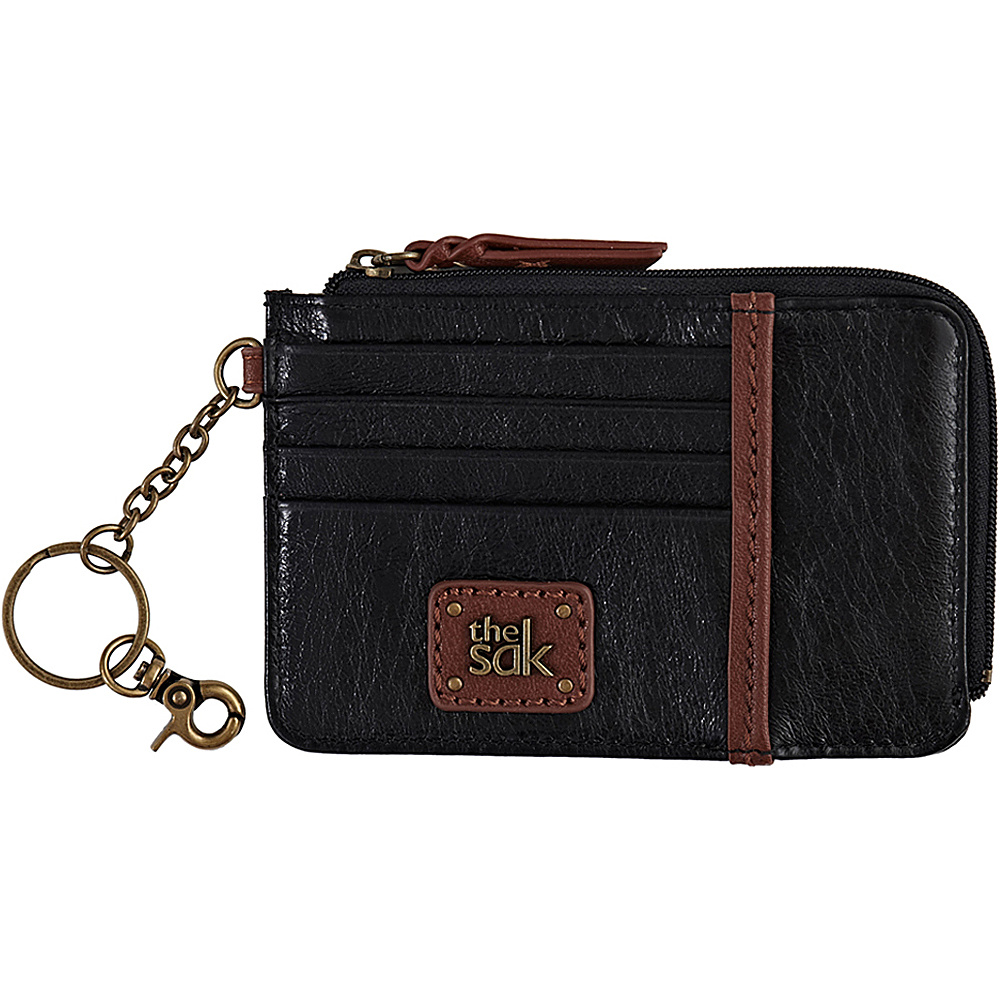 The Sak Iris Card Wallet Black Onyx The Sak Women s Wallets