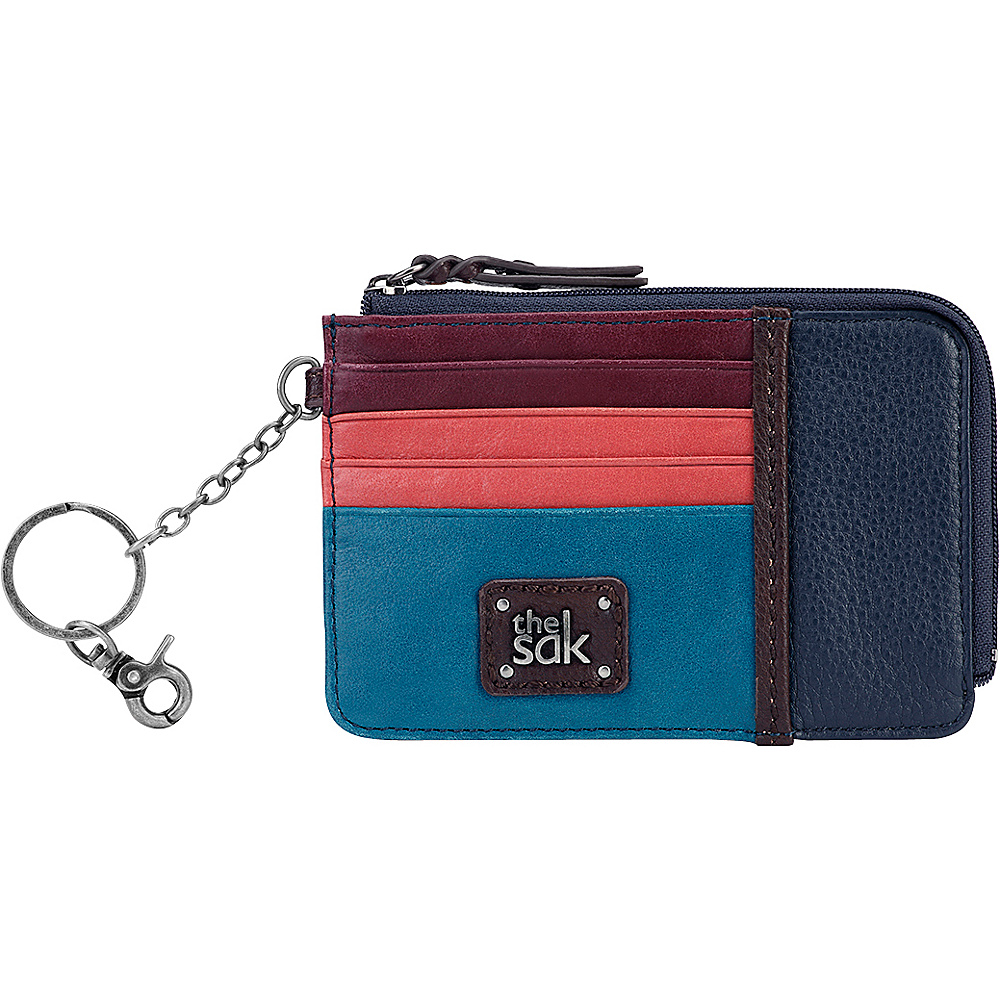 The Sak Iris Card Wallet Multi Block The Sak Women s Wallets