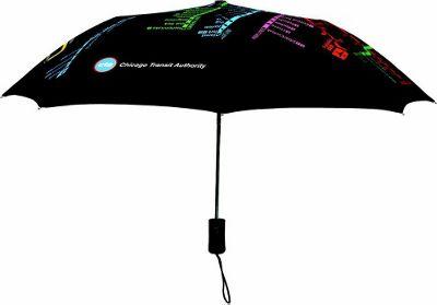 Leighton Umbrellas CTA Umbrella navy multi - Leighton Umbrellas Umbrellas and Rain Gear