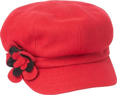 Betmar New York Lydia One Size - Scarlet - Betmar New York Hats/Gloves/Scarves