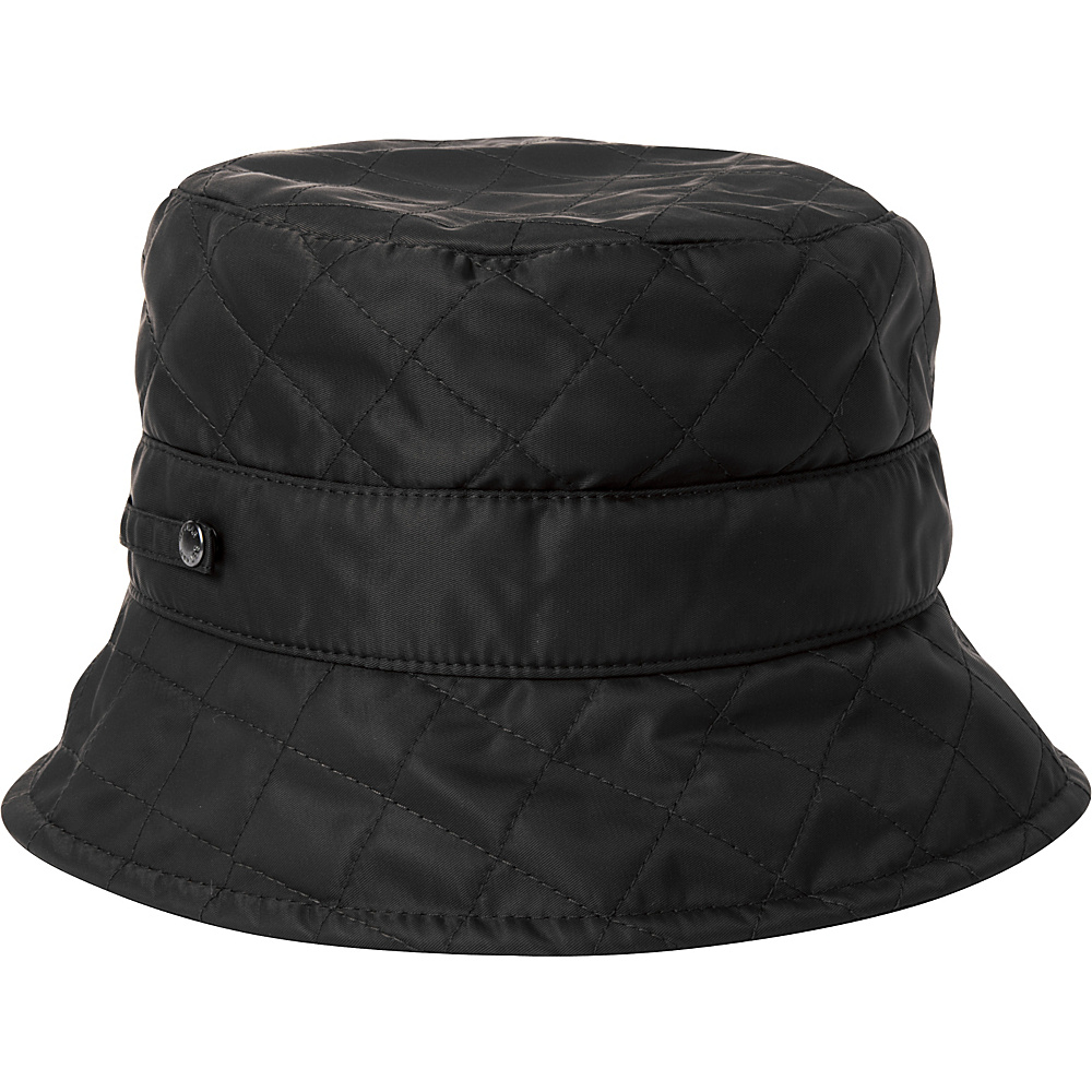 Betmar New York Quilted Bucket Black Betmar New York Hats Gloves Scarves