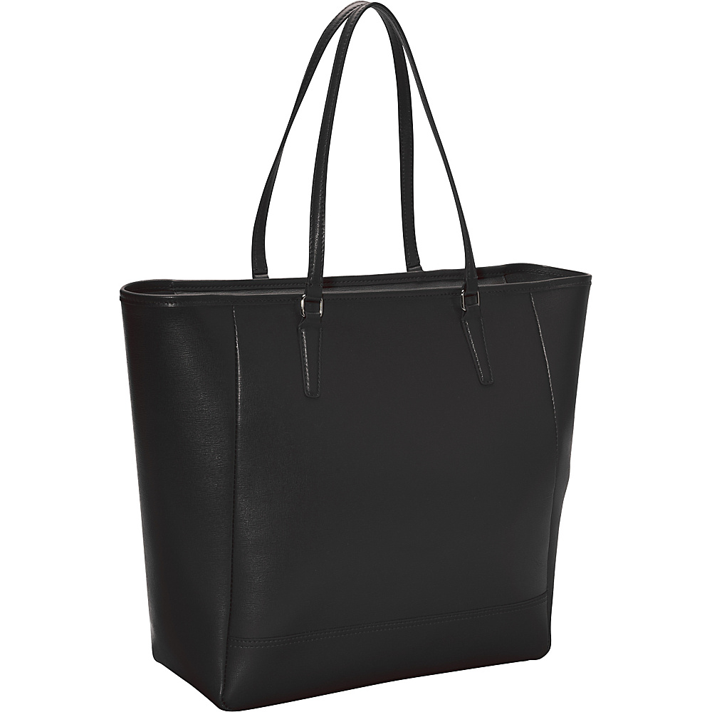 Royce Leather Hailey Saffiano Tote Black - Royce Leather Leather Handbags