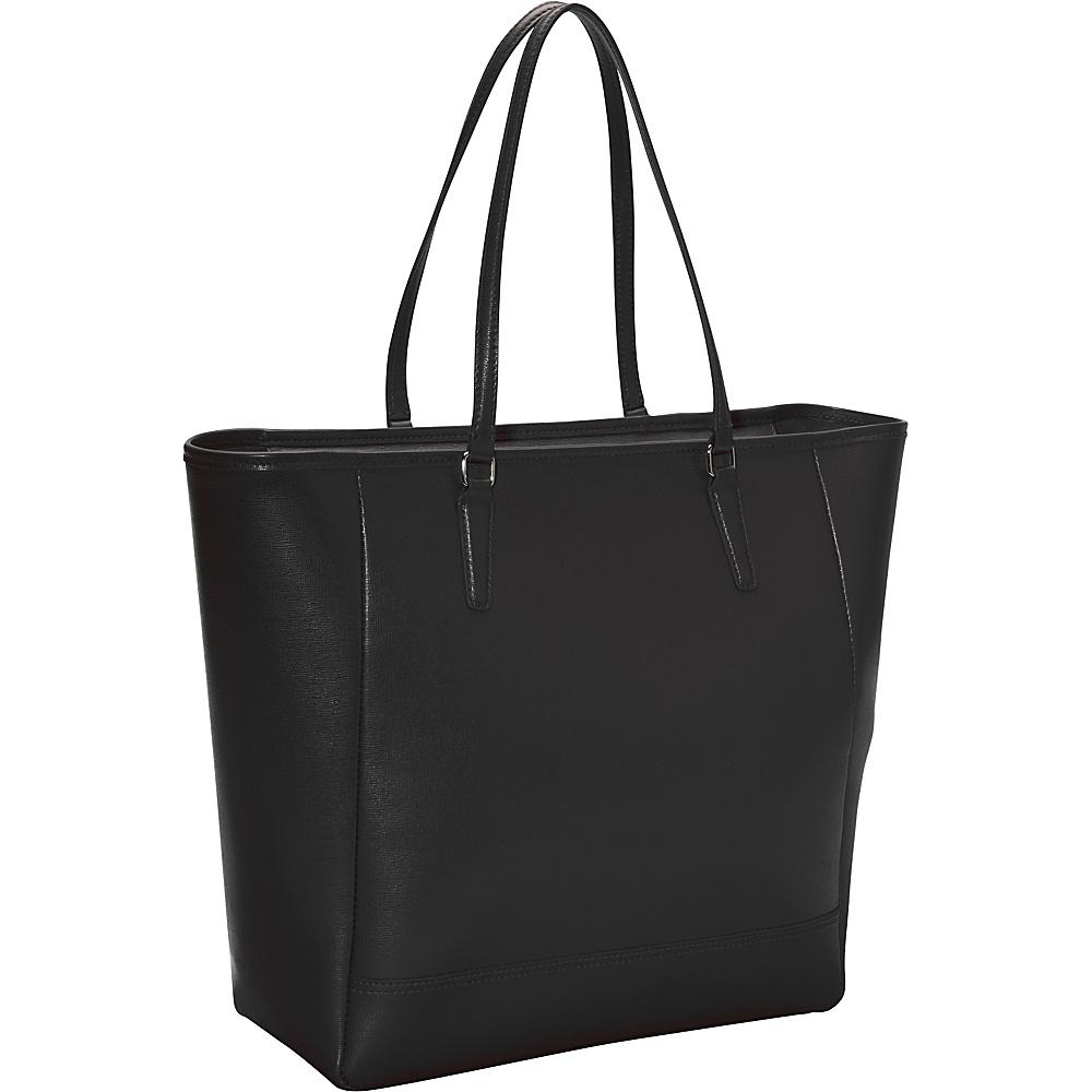 Royce Leather Hailey Saffiano Tote Black - Royce Leather Leather Handbags - Handbags, Leather Handbags