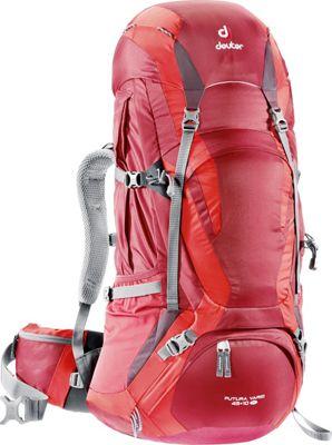 Deuter Futura Vario Pro 45+10 SL Cranberry/Fire/Aubergine - Deuter Day Hiking Backpacks
