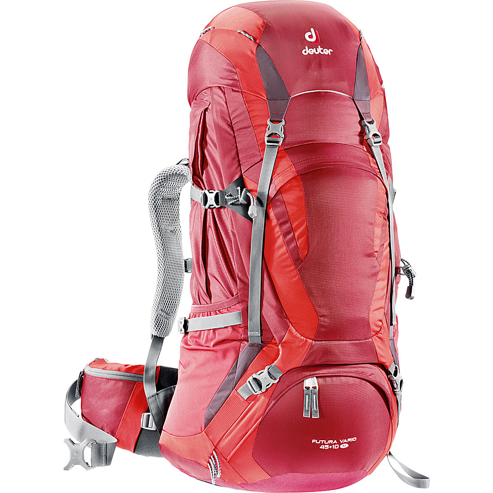 Deuter Futura Vario Pro 45 10 SL Cranberry Fire Aubergine Deuter Day Hiking Backpacks