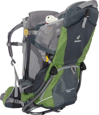 Deuter Kid Comfort Air Granite/Emerald - Deuter Baby Carr...