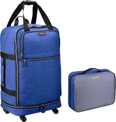 biaggi ZipSak 31 inch MicroFold Upright Winter Blue - biaggi Travel Duffels