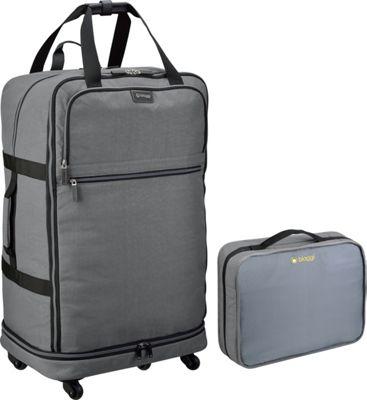 "Image of biaggi ZipSak 31"" MicroFold Upright Grey - biaggi Travel Duffels"