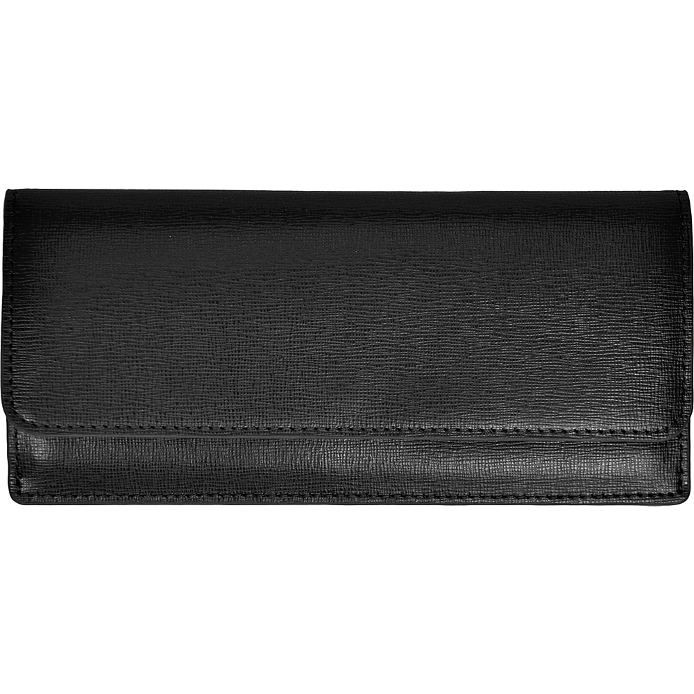 Royce Leather Freedom Wallet for Women Black - Royce Leather Women's Wallets