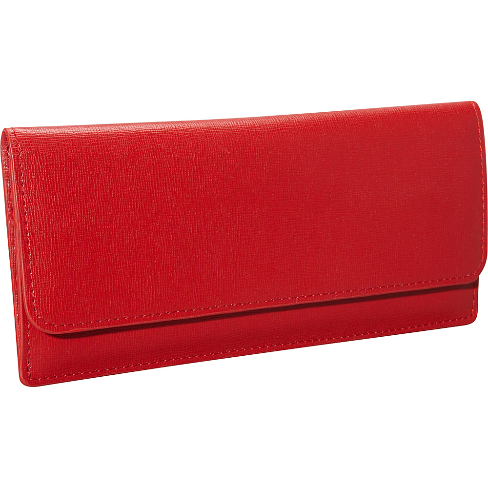 Royce Leather Freedom Wallet for Women Red - Royce Leather Women's Wallets