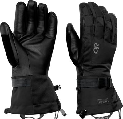 Outdoor Research Revolution Gloves Men's XL - Black - Out...