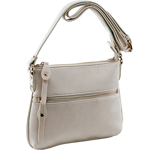 Parinda Ashen Cream - Parinda Manmade Handbags