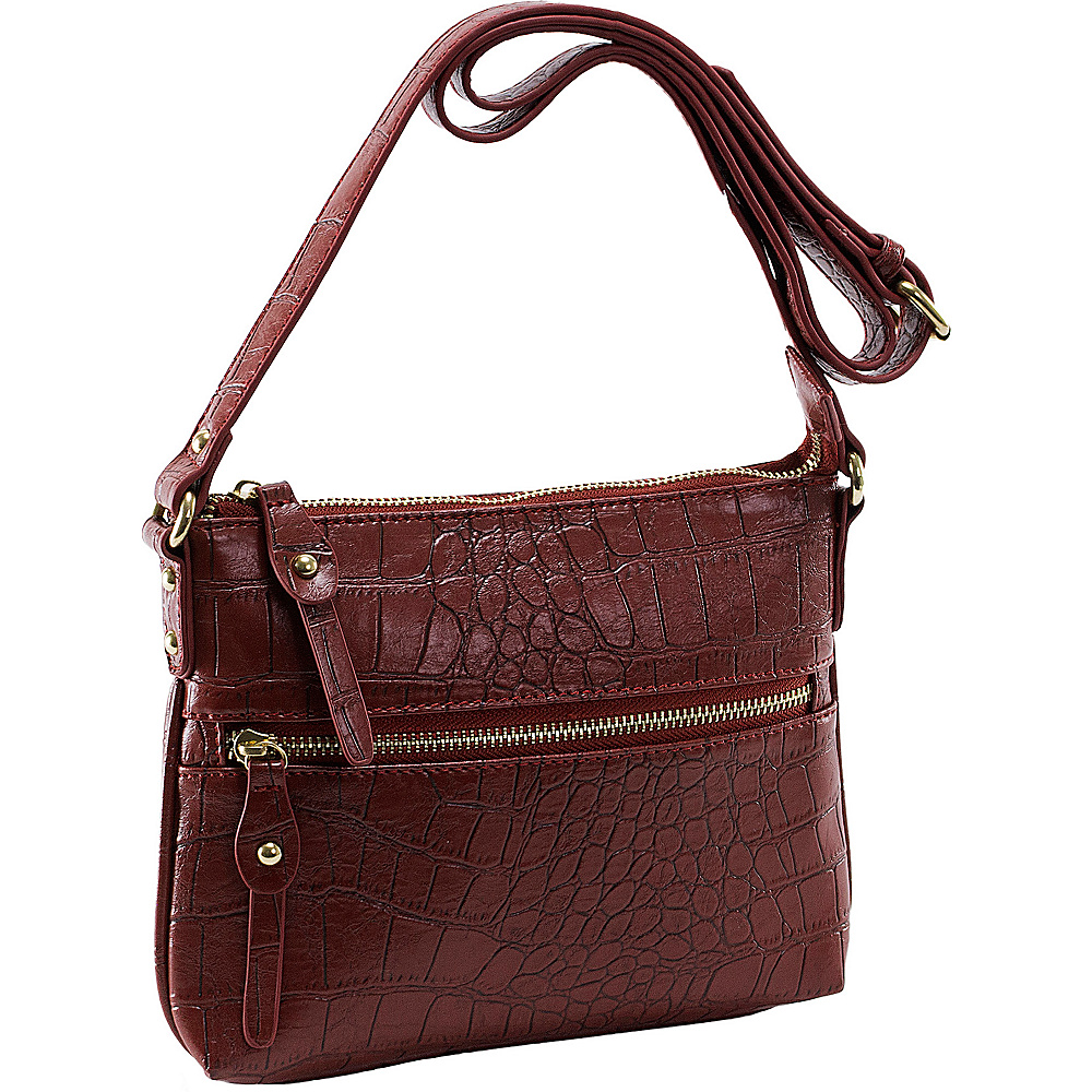 Parinda Ashen Wine - Parinda Manmade Handbags