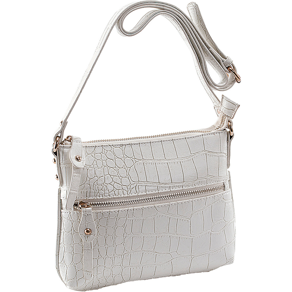 Parinda Ashen White - Parinda Manmade Handbags
