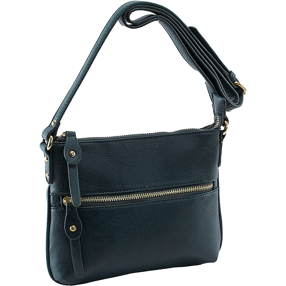 Parinda Ashen Navy - Parinda Manmade Handbags