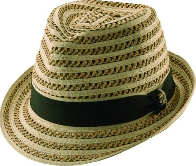 Tommy Bahama Headwear Tommy Bahama Headwear Deluxe Paper Brd Fedora XL - Natural - Tommy Bahama Headwear Hats/Gloves/Scarves