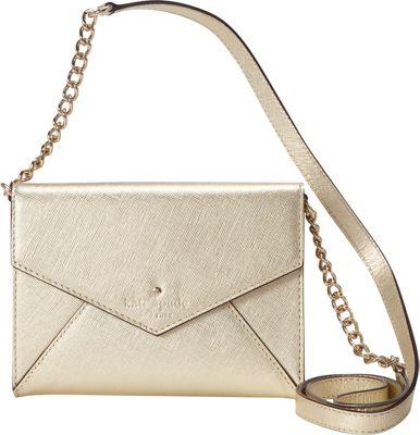 kate spade new york Cedar Street Monday Convertible Crossbody Bag Gold - kate spade new york Designer Handbags