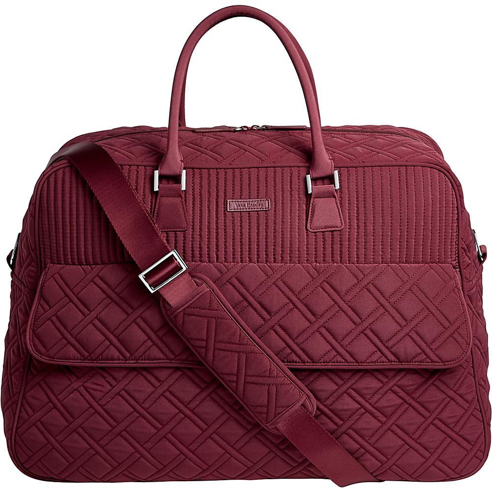 Vera Bradley Grand Traveler Tote - Solid Hawthorn Rose - Vera Bradley Rolling Duffels - Luggage, Rolling Duffels
