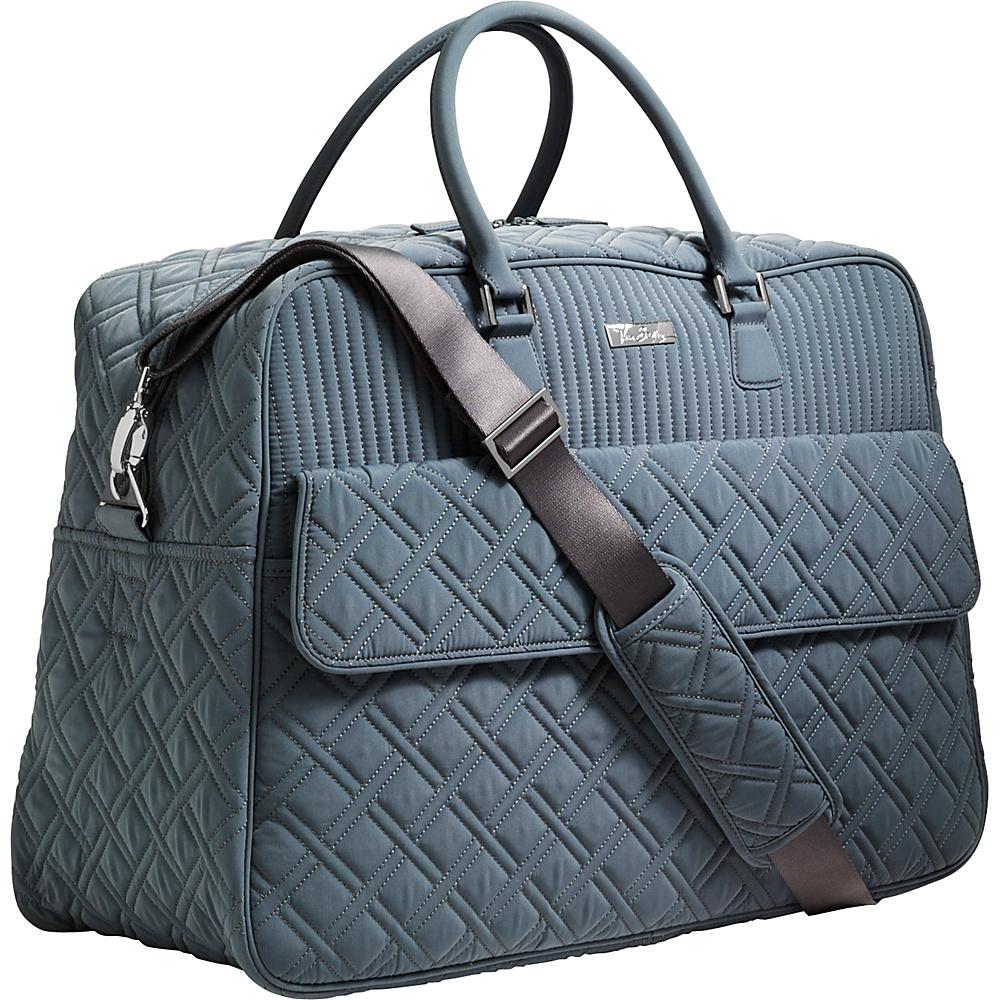 Vera Bradley Grand Traveler Tote - Solid Charcoal - Vera Bradley Travel Duffels