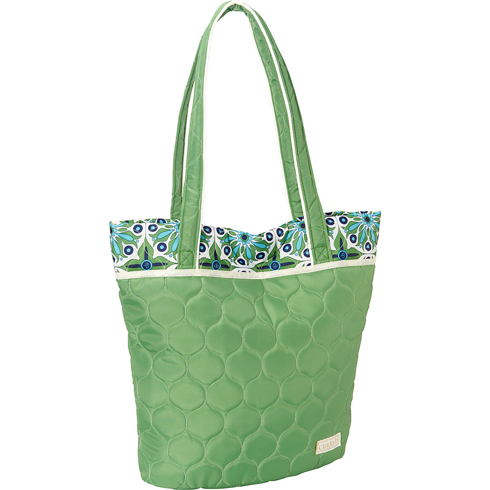 cinda b Essentials Tote Verde Bonita cinda b Fabric Handbags