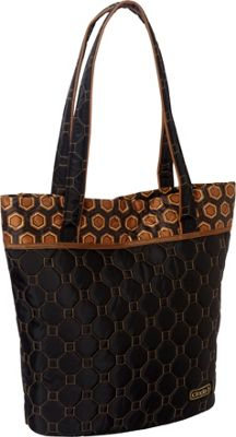 cinda b Essentials Tote Mod Tortoise - cinda b Fabric Handbags