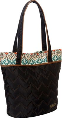 cinda b Essentials Tote Ravinia Black - cinda b Fabric Handbags