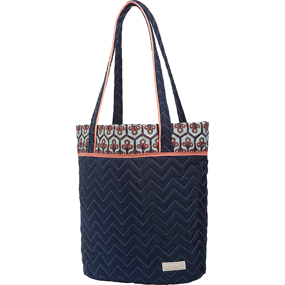cinda b Essentials Tote Neptune cinda b Fabric Handbags