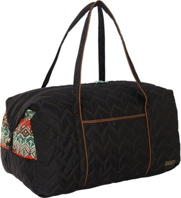 cinda b Vacationer II Ravinia Black - cinda b Travel Duffels