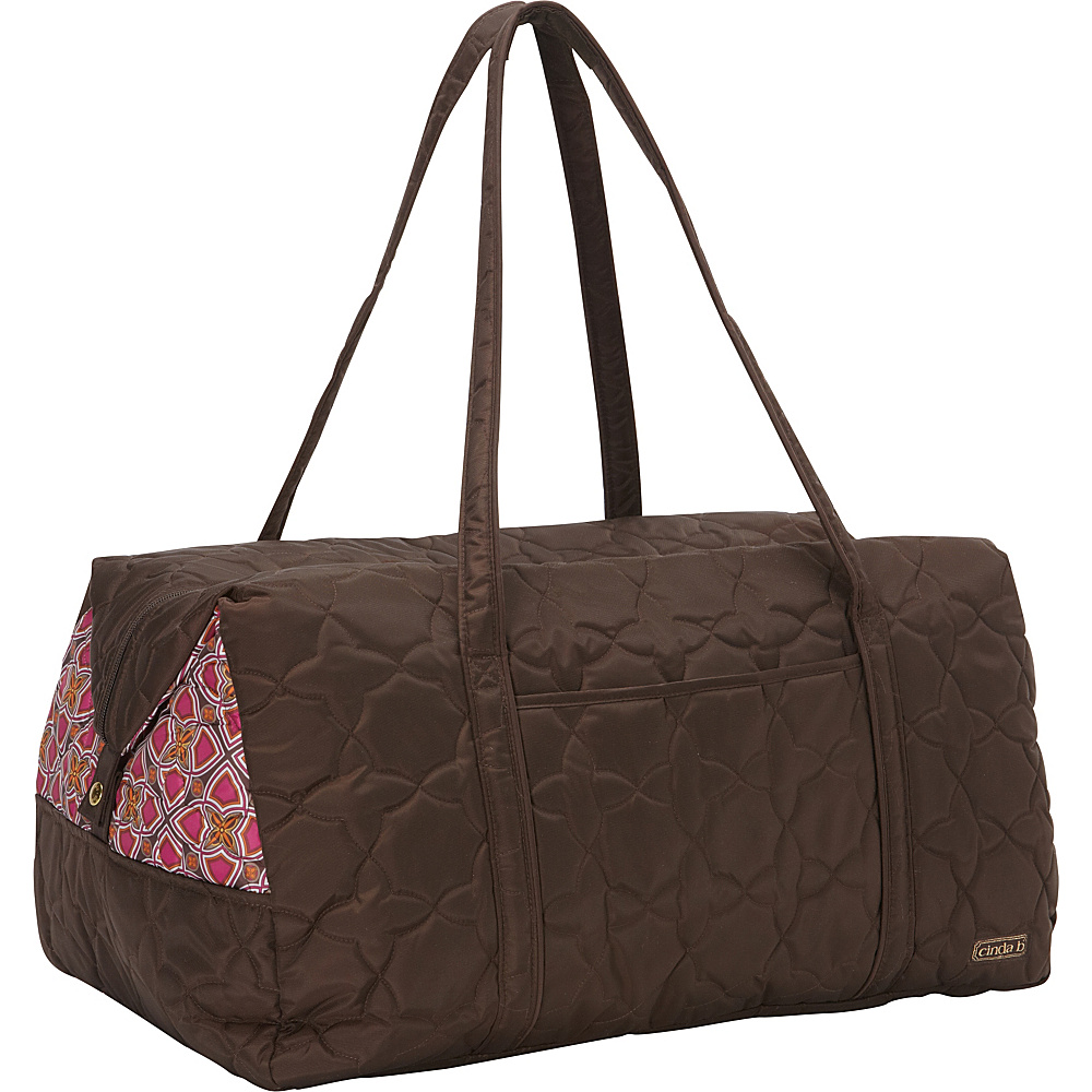 cinda b Vacationer II Stained Glass cinda b Travel Duffels