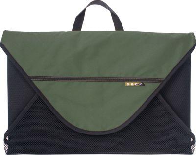 SOC Gear Q-Folder, Small Green/Black - SOC Gear Travel Organizers