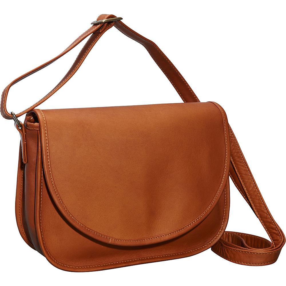ClaireChase Westside Crossbody Bag Saddle - ClaireChase Leather Handbags