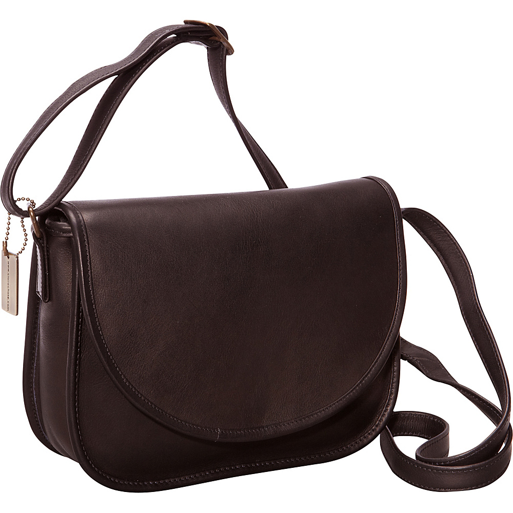 ClaireChase Westside Crossbody Bag Black - ClaireChase Leather Handbags