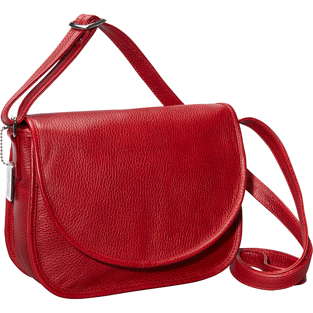 ClaireChase Westside Crossbody Bag Red - ClaireChase Leather Handbags