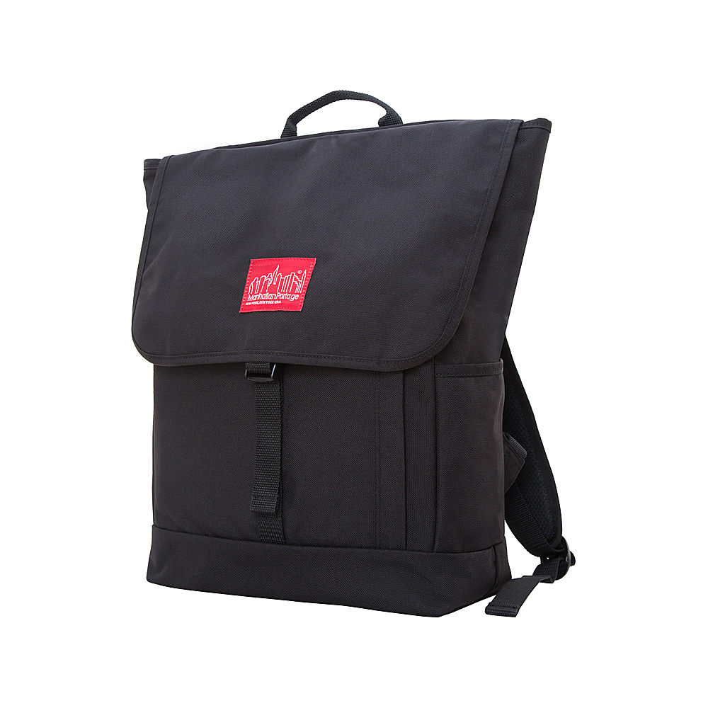 Manhattan Portage Washington Square Backpack Black - Manhattan Portage Everyday Backpacks - Backpacks, Everyday Backpacks