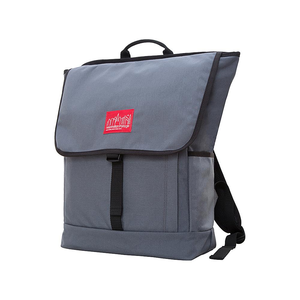 Manhattan Portage Washington Square Backpack Gray - Manhattan Portage Everyday Backpacks - Backpacks, Everyday Backpacks