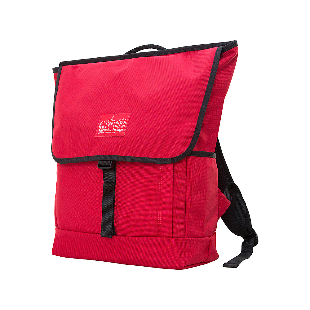 Manhattan Portage Washington Square Backpack Red - Manhattan Portage Everyday Backpacks - Backpacks, Everyday Backpacks