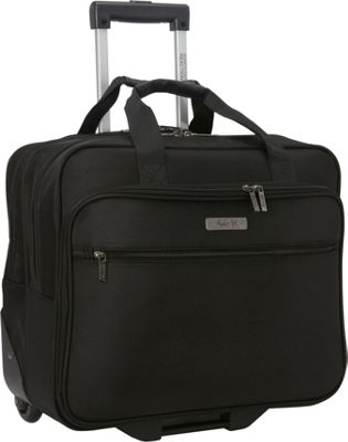 Kenneth Cole Reaction The Wheel Thing Rolling Laptop Bag Black - Kenneth Cole Reaction Wheeled Business Cases